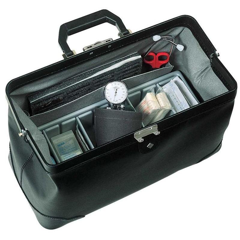 sacoche docteur practicus cuir anti rayures pratique et l g re. Black Bedroom Furniture Sets. Home Design Ideas