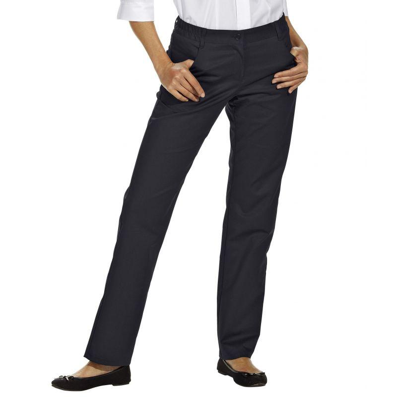 19b94b3e5db ... très confortable Stretch · Pantalon femme droit noir · Pantalon femme  noir extensible ...