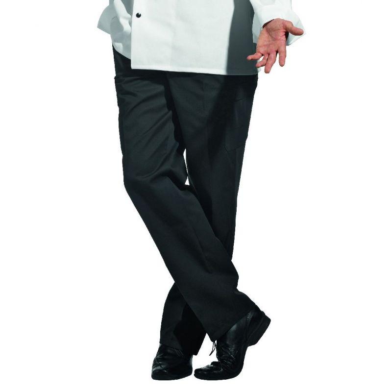 pantalon cargo homme polycoton noir 6 poches entretien facile. Black Bedroom Furniture Sets. Home Design Ideas