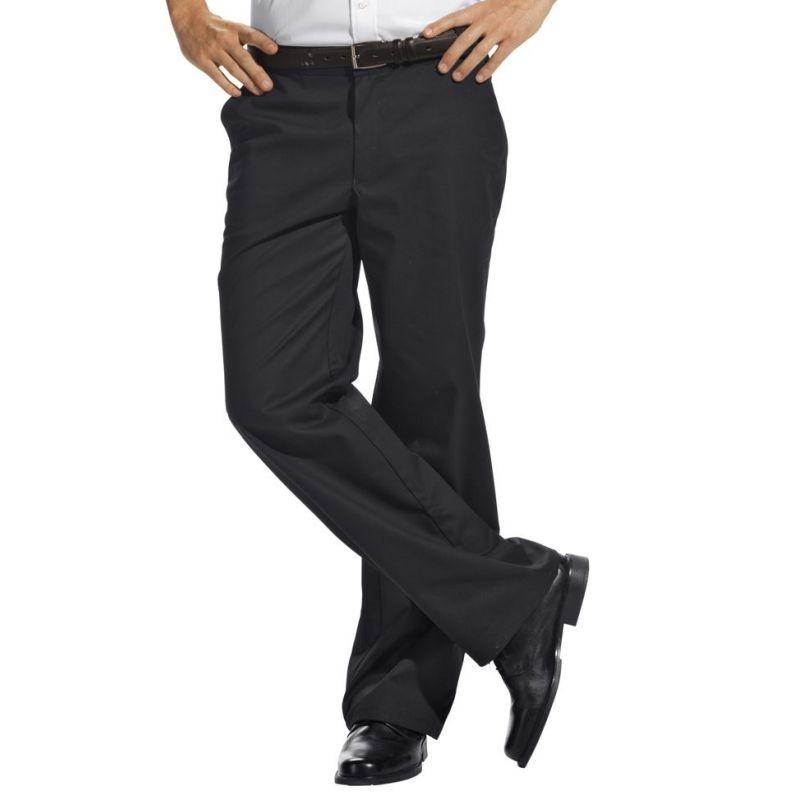 9b6d3d239a5 ... Pantalon homme noir Ceinture élastique ...