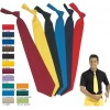 Cravate couleur, polyester coton