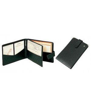 Classeur Pour ORDONNANCES, 25 x 17,5 cm, cuir véritable anti-rayures