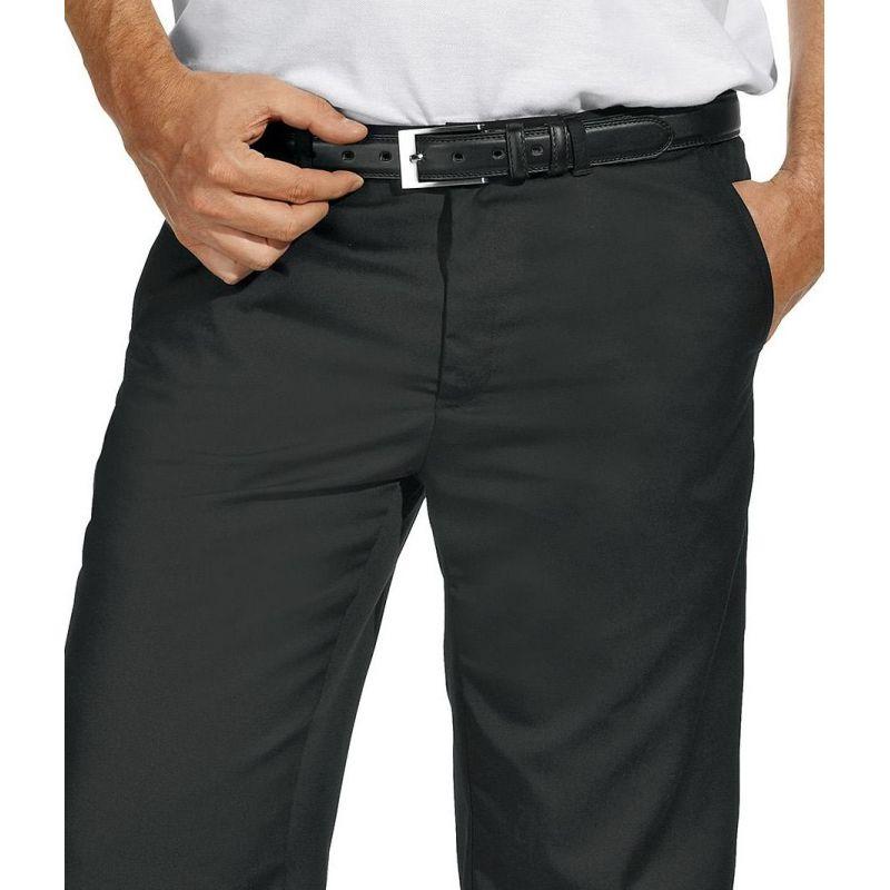 pantalon noir homme confortable la ceinture peut bouillir. Black Bedroom Furniture Sets. Home Design Ideas