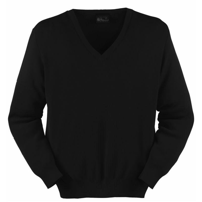 mérinos Noir V acrylique hommel laine Pull et gqOxZX