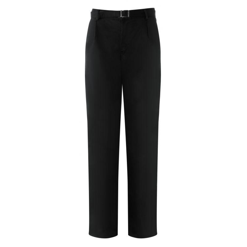 pantalon cuisine 50 polyester 50 coton noir color for life. Black Bedroom Furniture Sets. Home Design Ideas
