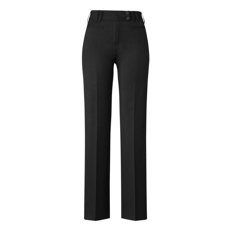 Pantalon Femme, Coupe droite Slimfit, Confort Coolmax et Stretch