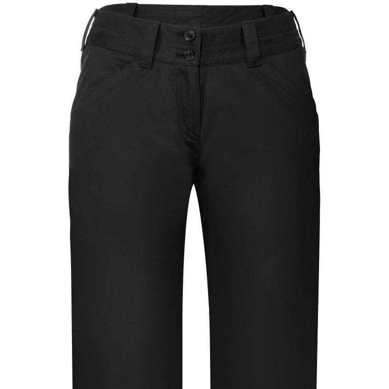 pantalon femme chino noir confort coton et stretch 2 poches. Black Bedroom Furniture Sets. Home Design Ideas