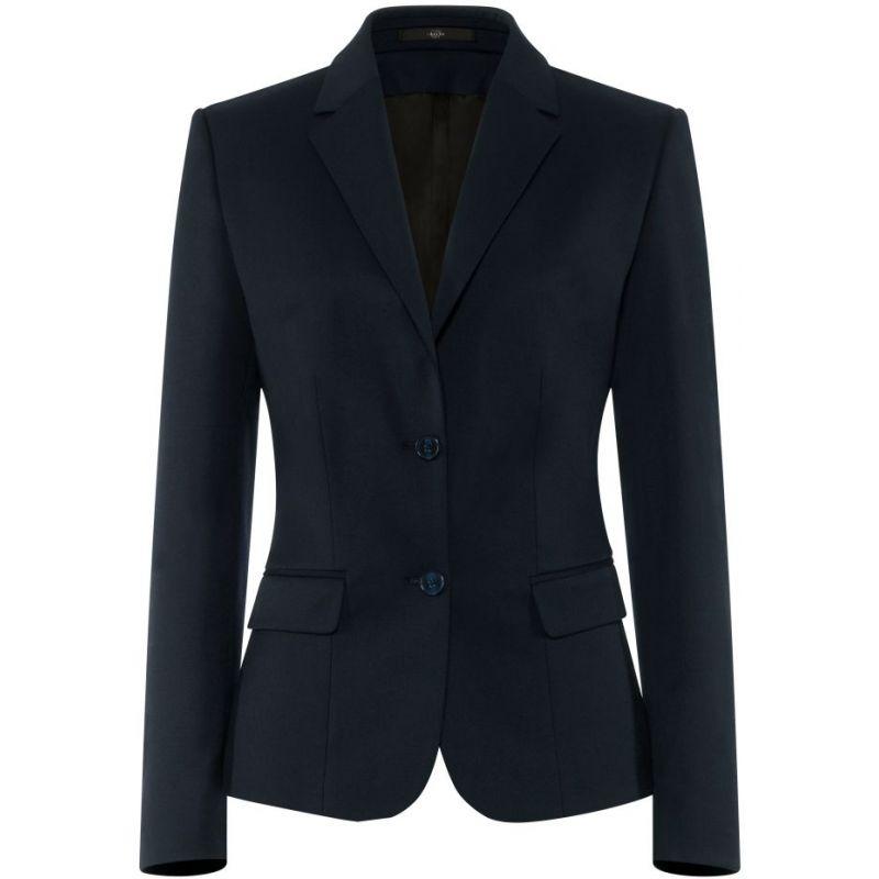 Veste Blazer femme, 2 boutons, Confort Confort Laine, Polyester et Stretch
