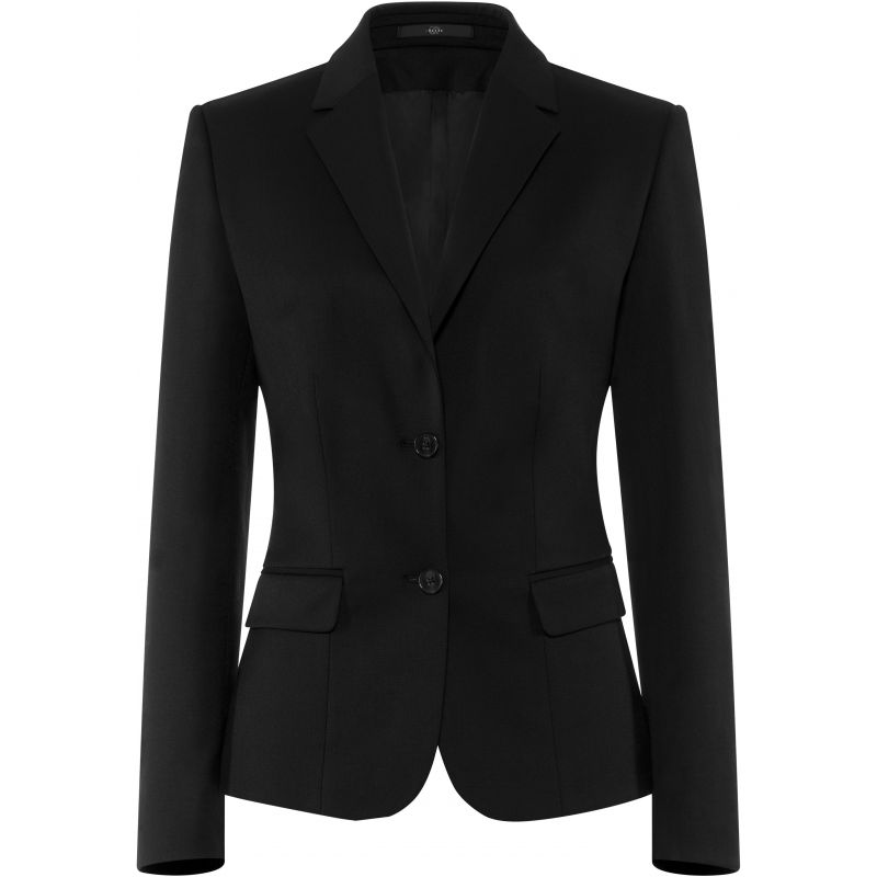 veste blazer femme 2 boutons confort lycra et stretch. Black Bedroom Furniture Sets. Home Design Ideas