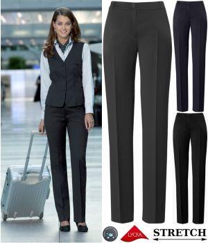 pantalon femme coupe droite confort laine lycra et stretch. Black Bedroom Furniture Sets. Home Design Ideas