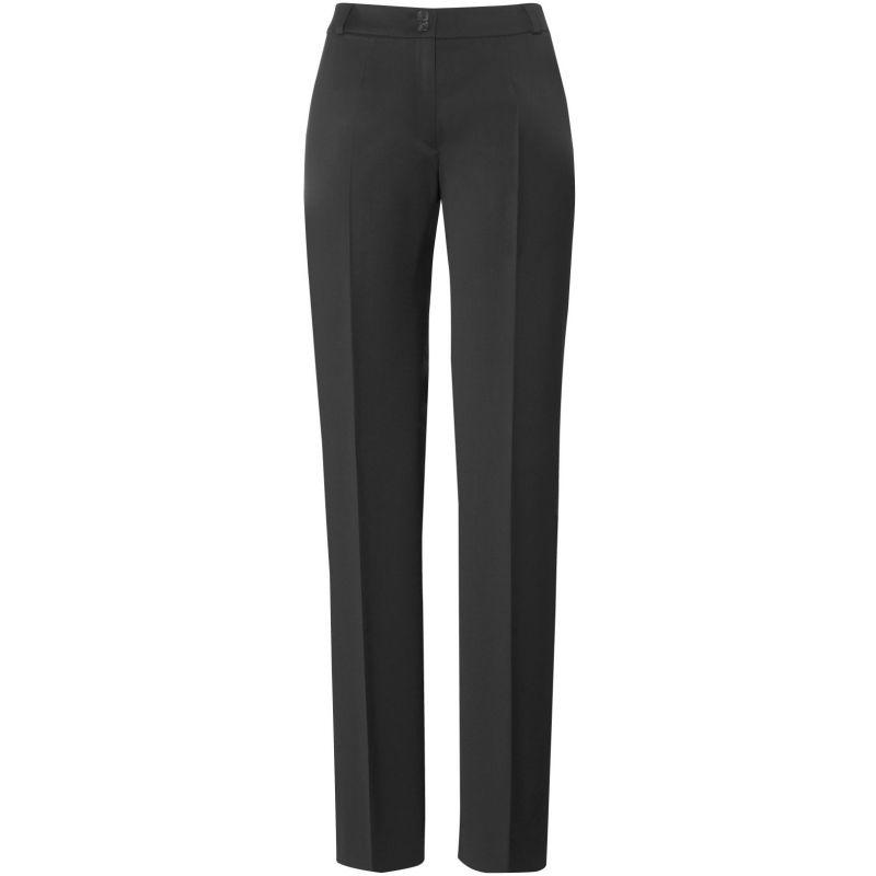 Pantalon Femme Coupe Droite Confort Laine Lycra Et Stretch