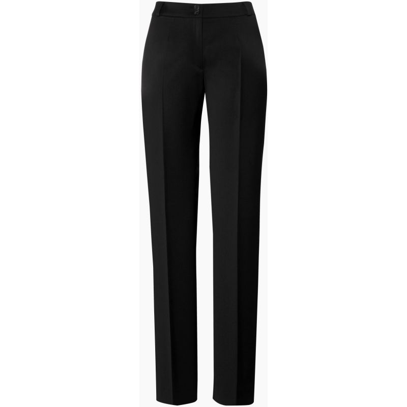 pantalon femme noir taille 36 coupe droite. Black Bedroom Furniture Sets. Home Design Ideas