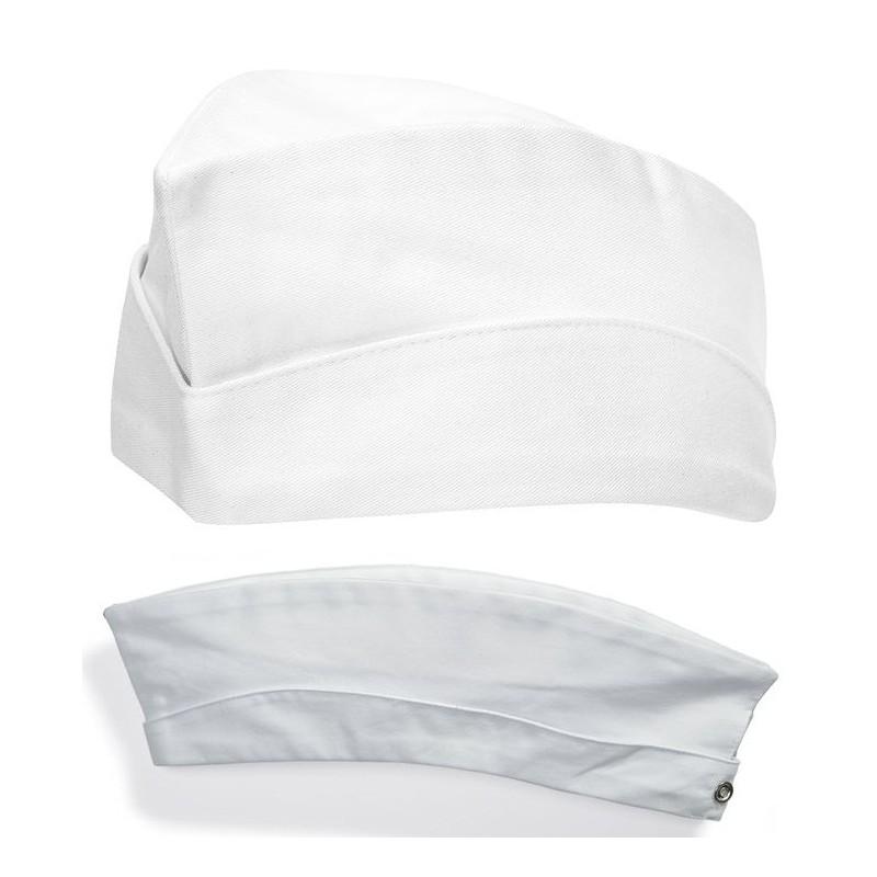 calot cuisine tissu 100 coton tour de t te r glable par boutons pression peut bouillir 95. Black Bedroom Furniture Sets. Home Design Ideas