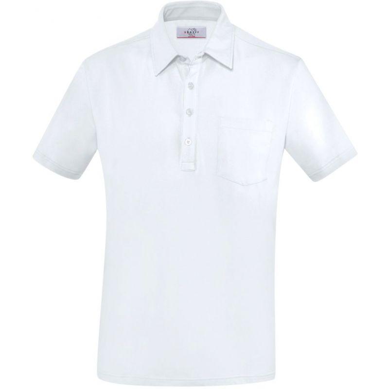 Polo homme manches courtes, Col chemise Kent, Coton et Stretch 40fbb98c7185