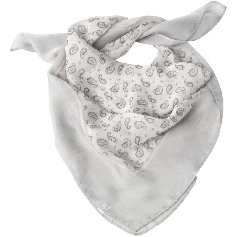foulard carr femme gris motif cachemire lavable. Black Bedroom Furniture Sets. Home Design Ideas
