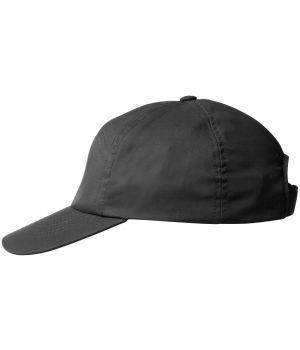 Casquette Noire, Polyester Coton, Velcro ajustable