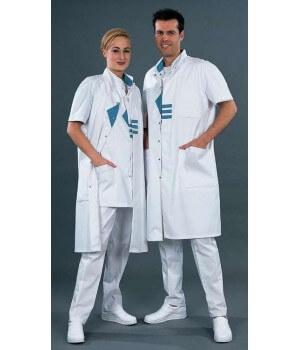 Blouse médicale homme et femme, Modèle raglan, taille XL