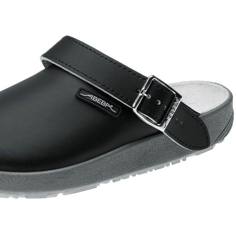 chaussures de travail cuir antid rapantes noire. Black Bedroom Furniture Sets. Home Design Ideas