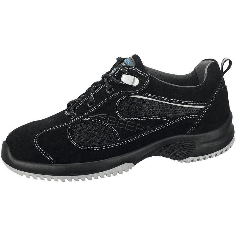 chaussures de travail fashion et confort cuir noir aspect. Black Bedroom Furniture Sets. Home Design Ideas