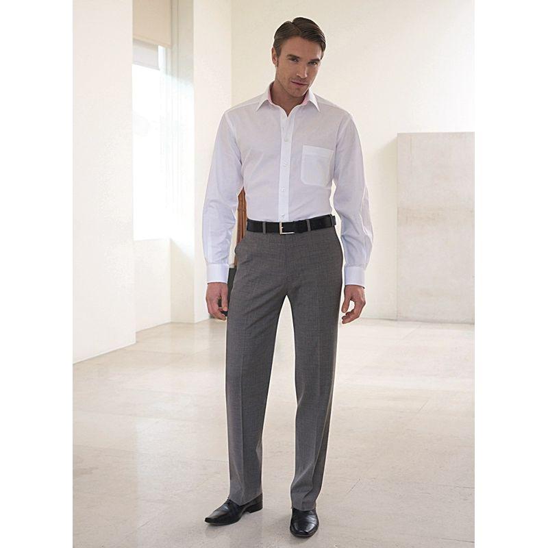 pantalon homme sans plis chic et raffin. Black Bedroom Furniture Sets. Home Design Ideas