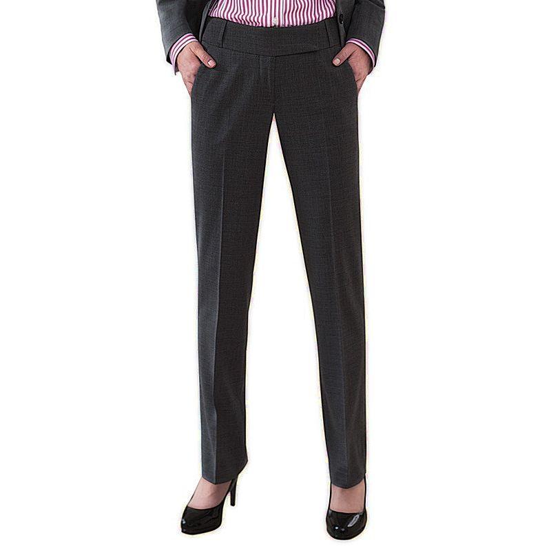 Femme Chic Coupe Pantalon 2 Avant Poches Droite g7qvnOd8