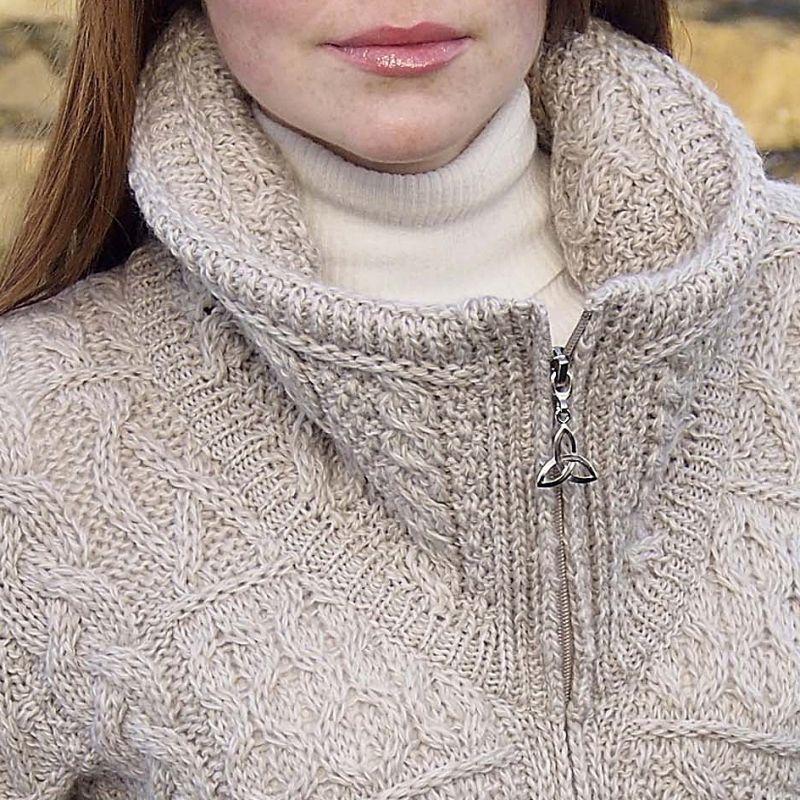 Manteau laine irlandais