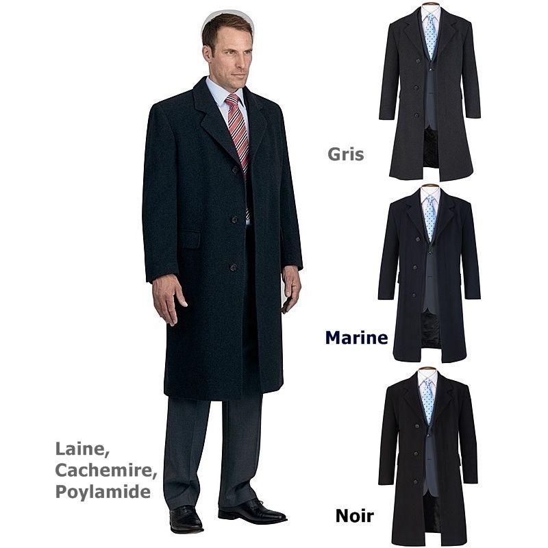 manteau homme long laine cachemire les vestes la mode. Black Bedroom Furniture Sets. Home Design Ideas