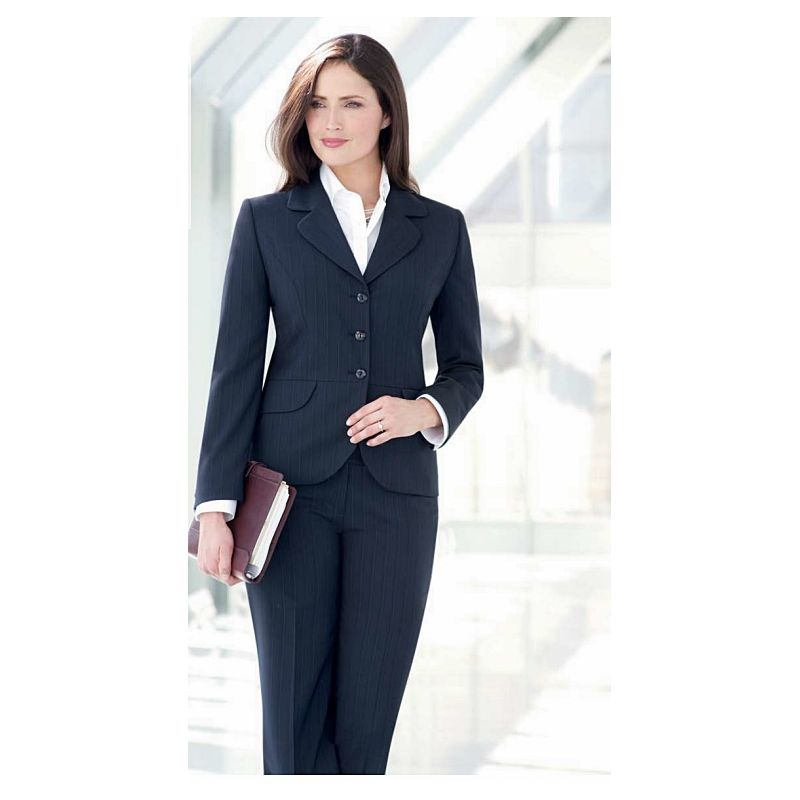 veste femme 3 boutons 2 poches c t revers arrondis 1. Black Bedroom Furniture Sets. Home Design Ideas