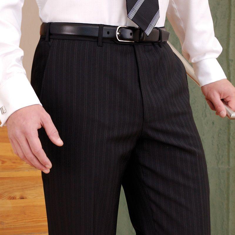 pantalon de costume homme sans pinces 2 poches lat rales 1 poche arri re. Black Bedroom Furniture Sets. Home Design Ideas