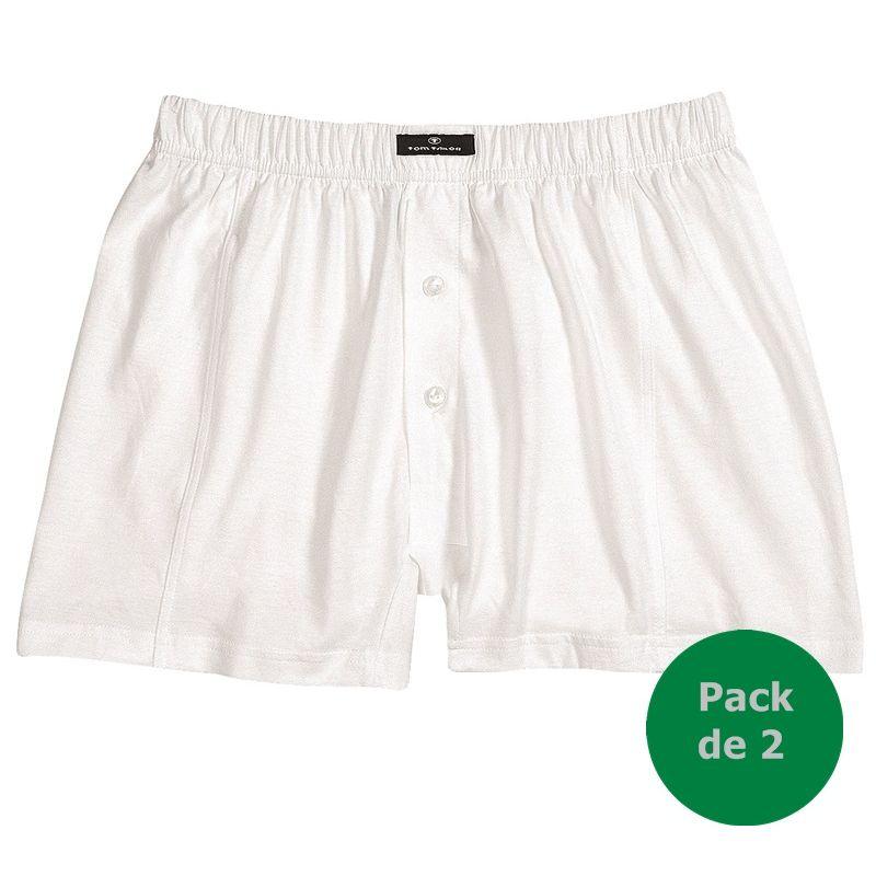 short blanc sous v tement homme bande confort la taille 100 coton pack de 2. Black Bedroom Furniture Sets. Home Design Ideas