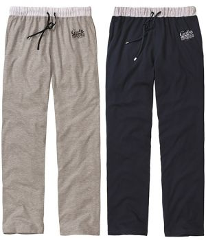Pantalon d'intérieur ou de pyjama, Marine Taille S