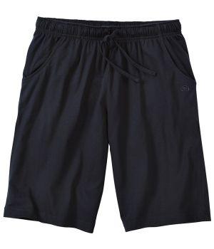 Bermuda d'intérieur ou de pyjama, Marine, Poches latérales, Taille élastiquée