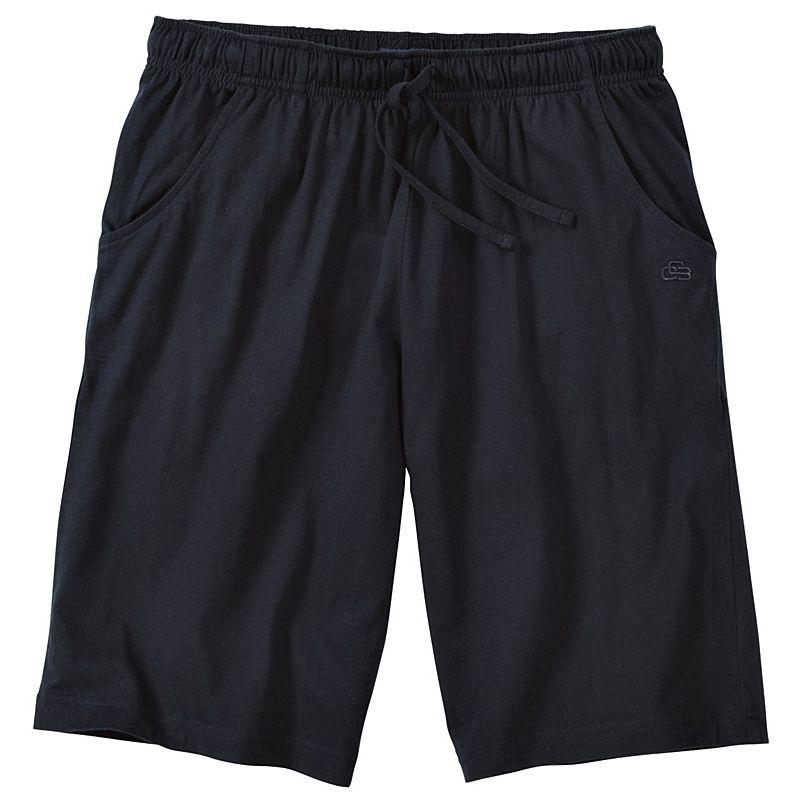 443093813fee2 Bermuda d'intérieur ou de pyjama, Marine, Poches latérales, Taille  élastiquée