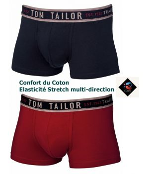 Caleçon Boxer, Slip Hi-Pants, Bande de confort à la ceinture