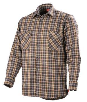 Chemise homme à carreaux Lafont, Manches longues, grand confort