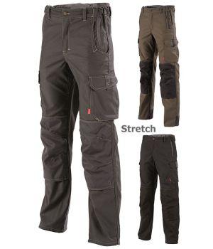Pantalon de travail Hakan Lafont, TissuStretch, Ceinture élastiquée côtés