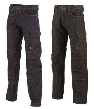 Jean Anoki de travail Adolphe Lafont, Style Sportswear, Denim 100% coton
