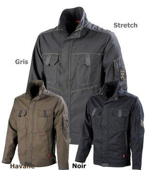 Blouson de travail Keme Lafont, Style sportswear, Confort du Stretch