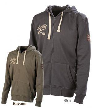 Sweat-shirt à capuche Hinto Lafont, Style Sportswear Vintage, Confort