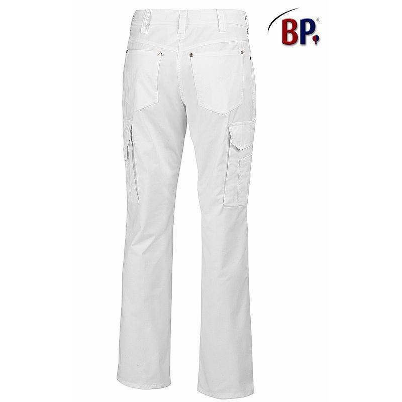 pantalon blanc jean femme 5 poches tissu comfortec stretch. Black Bedroom Furniture Sets. Home Design Ideas