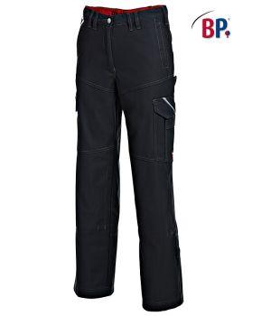 Pantalon travail Femme Noir, Stretch confort,Grand teint, robuste