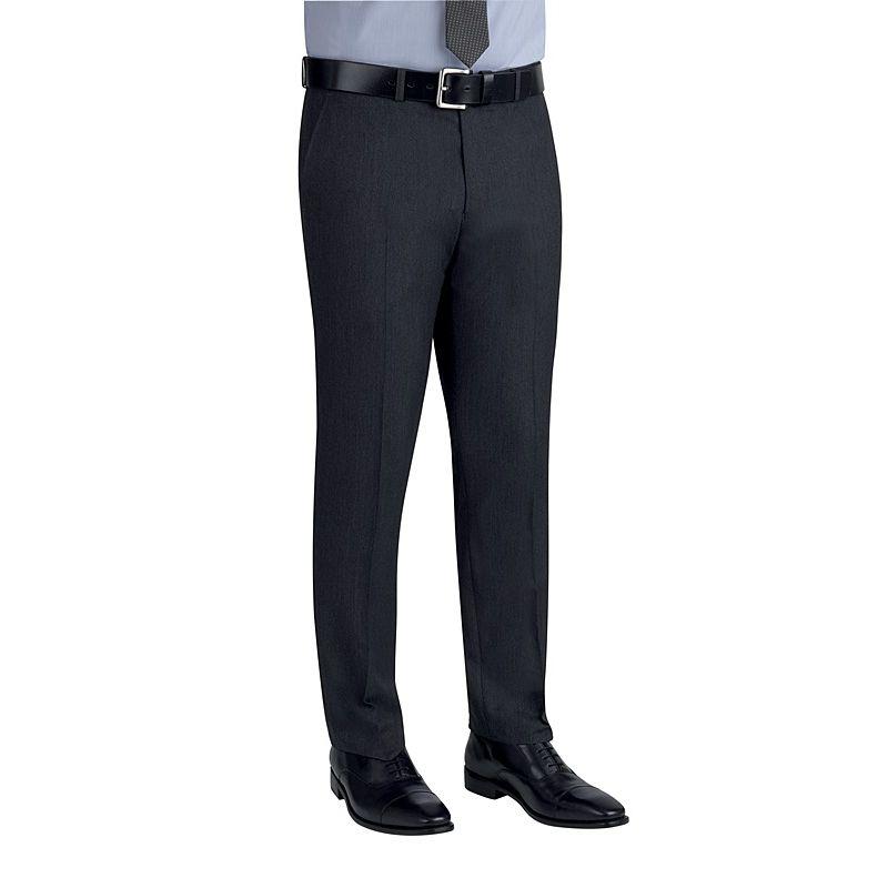 pantalon de costume homme coupe slim sans pinces 2 poches avant. Black Bedroom Furniture Sets. Home Design Ideas