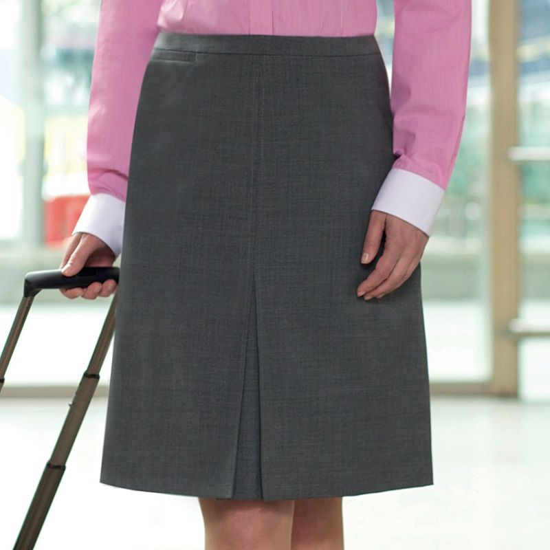 jupe a plis creux