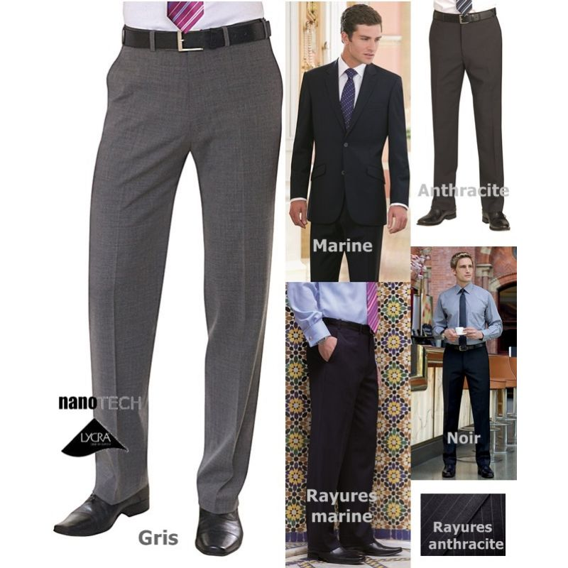pantalon homme chic
