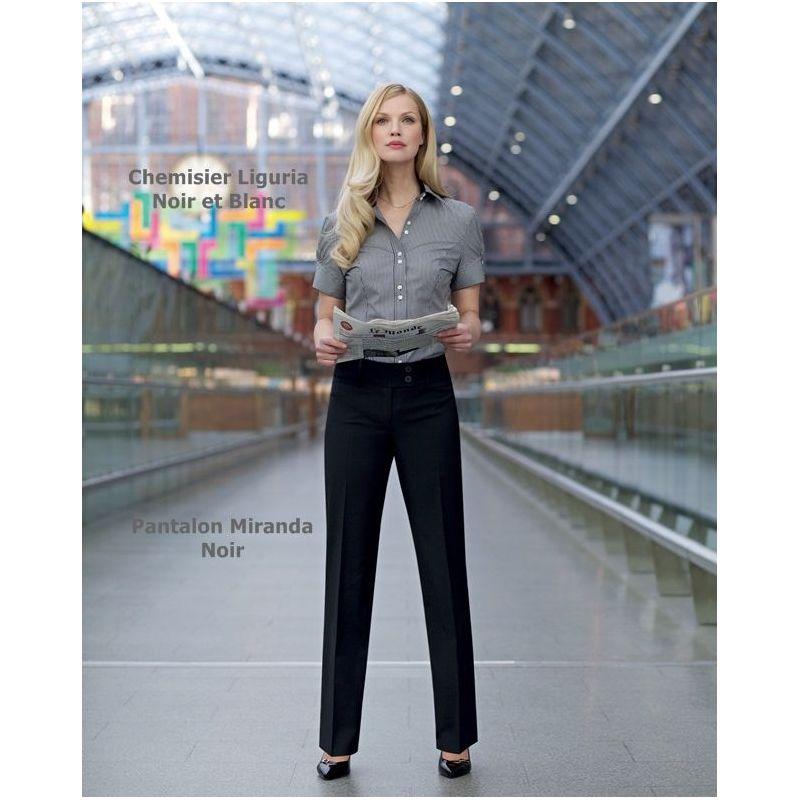 d7093adbad30c Pantalon noir chemise femme   Fisysconsulting