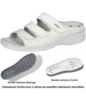chaussures Reflexor® dame, massage, confort, cousu main