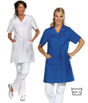 blouse professionnelle femme polycoton 2 poches c t. Black Bedroom Furniture Sets. Home Design Ideas