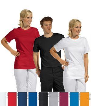 Tee-shirt pour hommes et femmes, Col rond, 100% coton
