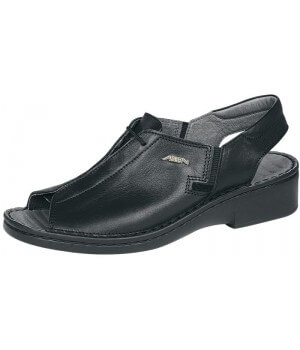 chaussures confort, dessus et doublure cuir, antidérapantes