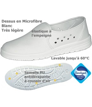 Chaussures lavables, Dessus Lorica hydrofuge,